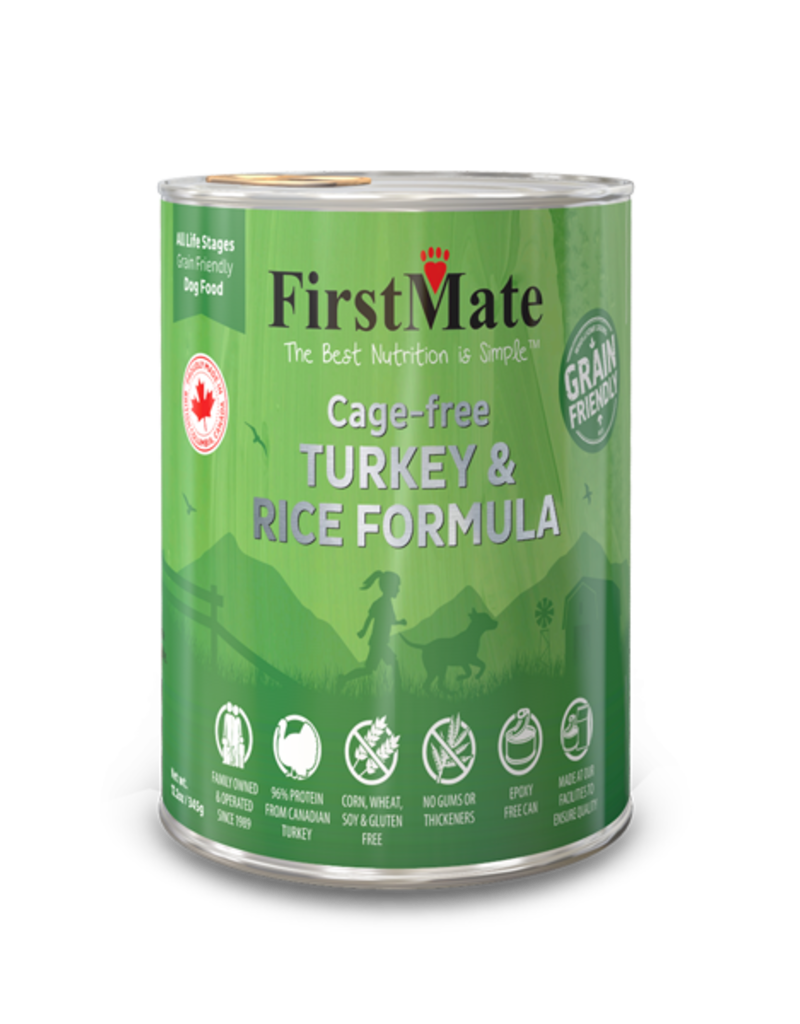 FirstMate Pet Food Canine Whole Grain Turkey & Rice Recipe