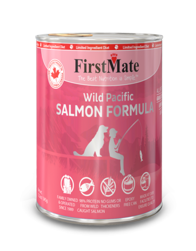 FirstMate Pet Food Canine Limited Ingredient Salmon Recipe