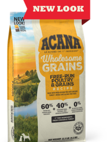 Acana Canine Wholesome Grain Free-Run Poultry