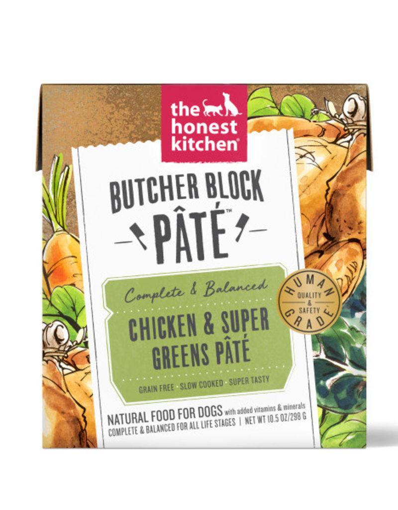 The Honest Kitchen Canine Butcher Block Pâté: Chicken & Super Greens