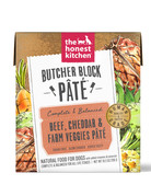 The Honest Kitchen Canine Butcher Block Pâté: Beef, Cheddar & Farm Veggies