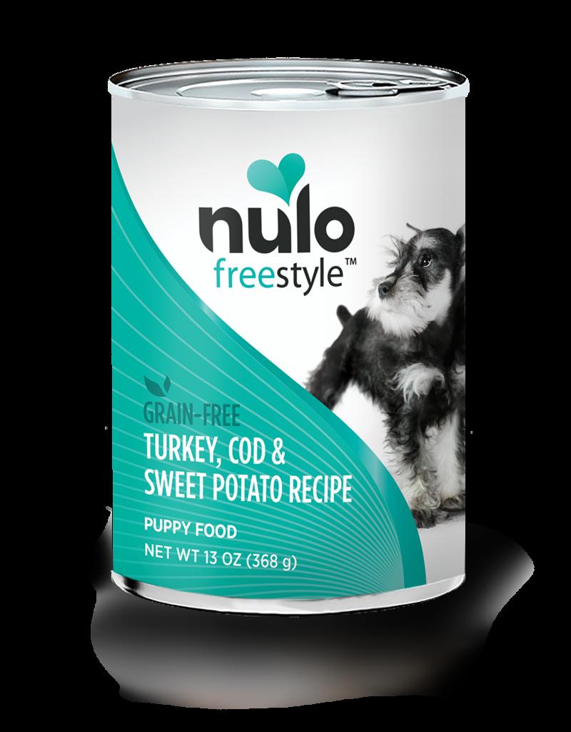 Nulo Canine Grain-Free Freestyle Puppy Turkey & Cod Recipe