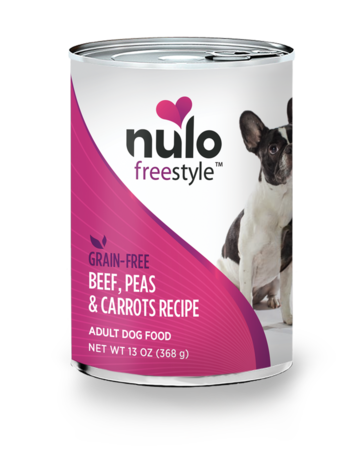 Nulo Canine Freestyle Grain-Free Beef & Carrots Recipe