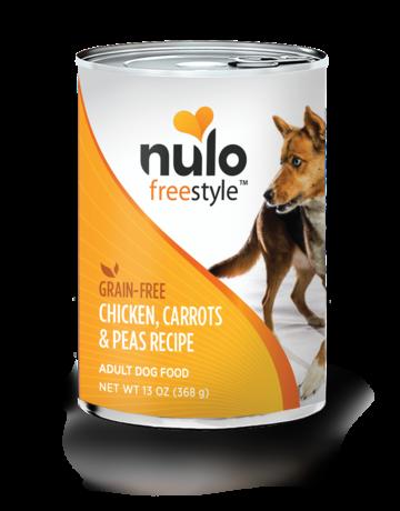 Nulo Canine Grain-Free Freestyle Chicken & Carrots Recipe