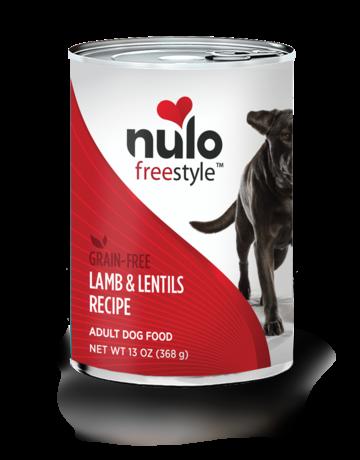 Nulo Canine Grain-Free Freestyle Lamb & Lentils Recipe