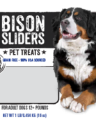 Mountain Plains - All American Pet Treats Canine Bison Sliders