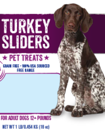 Mountain Plains - All American Pet Treats Canine Turkey Sliders