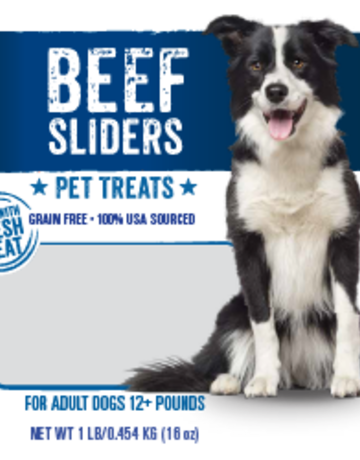 Mountain Plains - All American Pet Treats Canine Beef Sliders