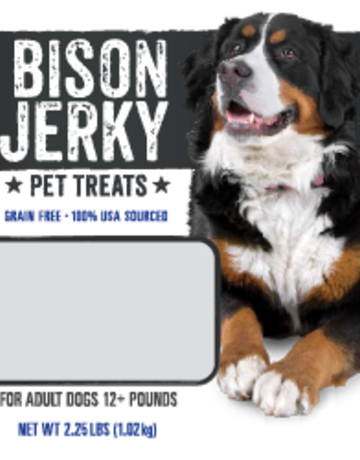Mountain Plains - All American Pet Treats Canine Bison Jerky