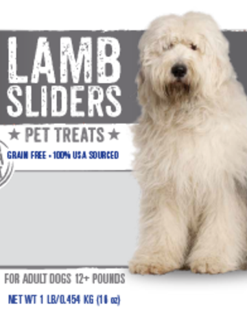 Mountain Plains - All American Pet Treats Canine Lamb Sliders