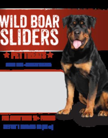 Mountain Plains - All American Pet Treats Canine Wild Boar Sliders