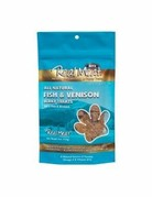 Real Meat Canine Air-Dried Fish & Venison Treat