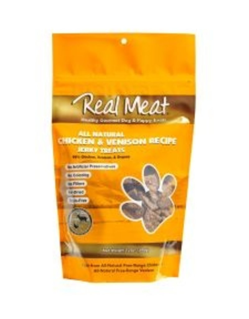 Real Meat Canine Air-Dried Chicken & Venison Treats