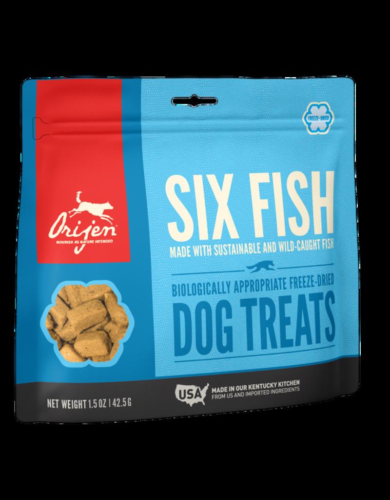 Orijen Canine Freeze-Dried Six Fish Treats