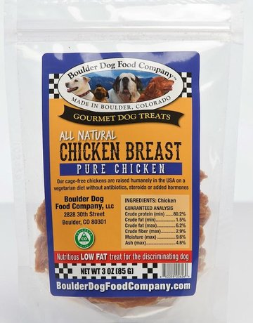 Boulder Dog Food Company Canine Chicken Breast Strips