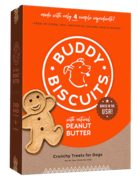 Buddy Biscuits Canine Whole Grain Peanut Butter Biscuits