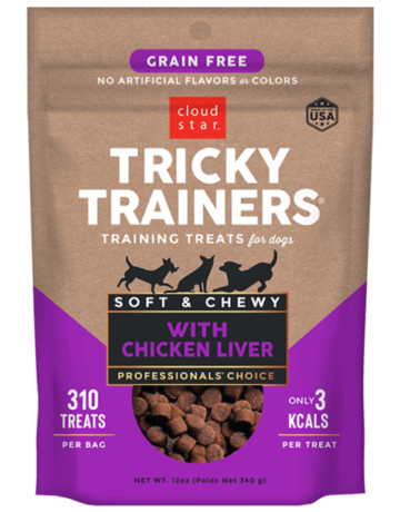 Cloud Star Canine Grain-Free Tricky Trainer Chewy Liver