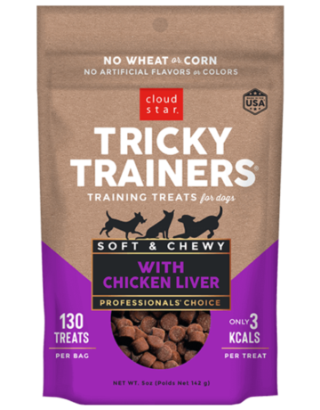 Cloud Star Canine Tricky Trainer Chewy Liver