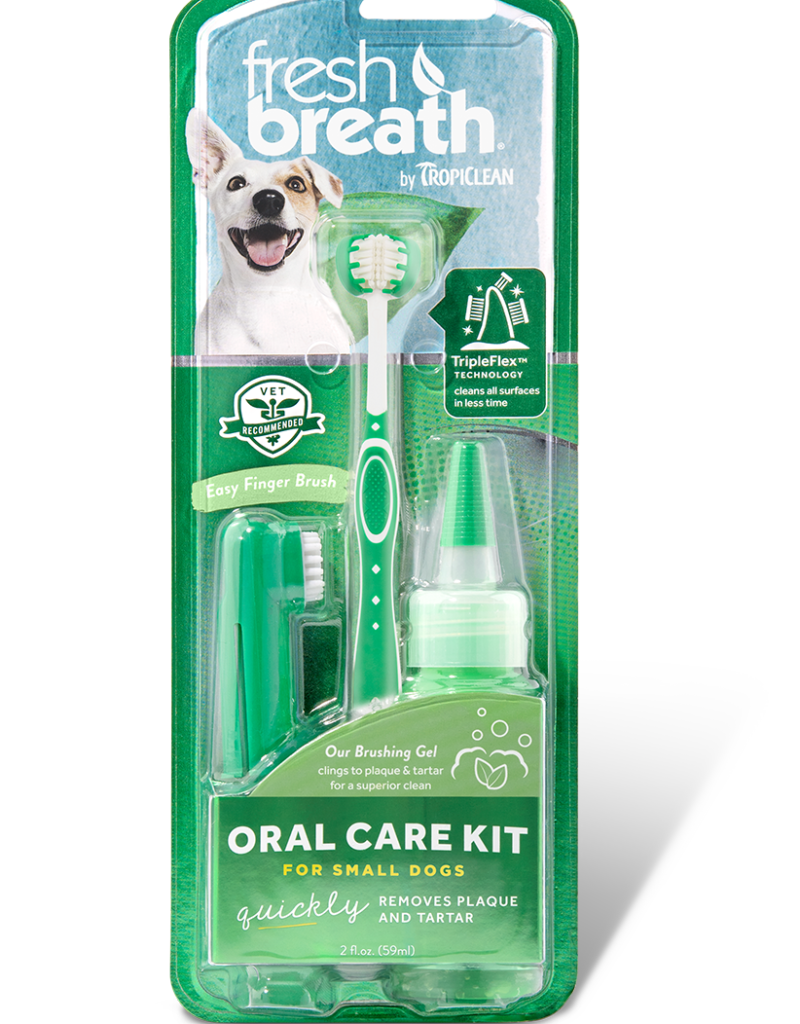 TropiClean Toothbrush Kit for Dogs