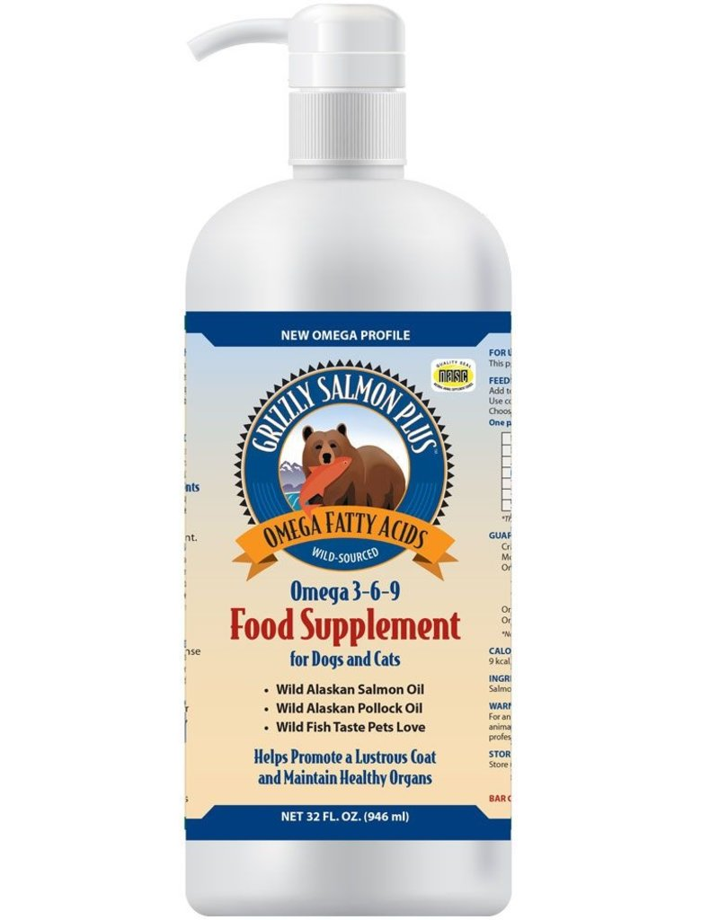 Grizzly Pet Products Salmon Oil