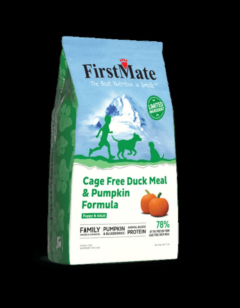 FirstMate Pet Food Canine Grain-Free Duck & Pumpkin Recipe