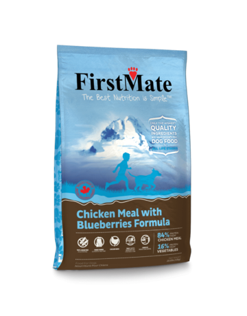 FirstMate Pet Food Canine Grain-Free Chicken with Blueberries Formula
