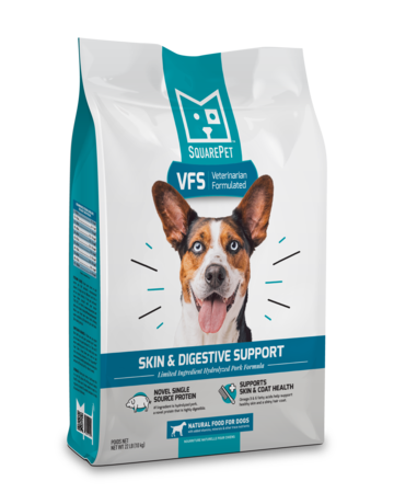 SquarePet Canine Whole Grain VFS Skin & Digestion Support