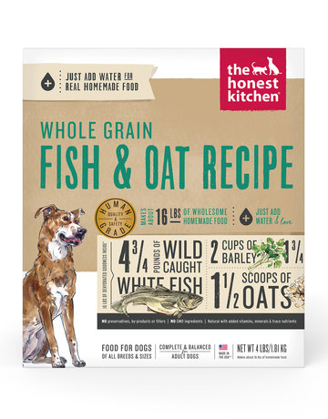The Honest Kitchen Canine Whole Grain Dehydrated Fish & Oats