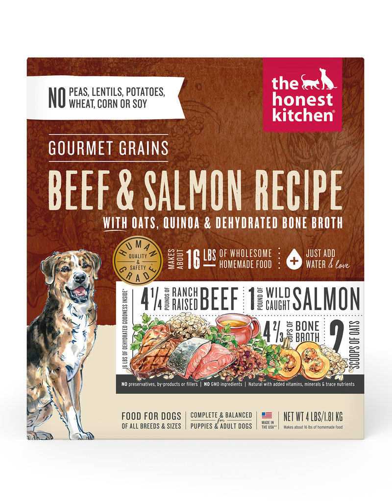The Honest Kitchen Canine Gourmet Grain Dehydrated Beef & Salmon