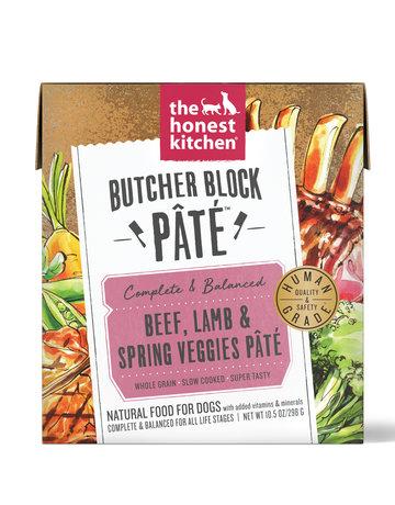 The Honest Kitchen Canine  Butcher Block Pâté: Beef, Lamb & Spring Veggies