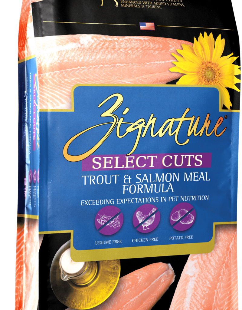 Zignature Canine Whole Grain Select Cuts - Trout & Salmon
