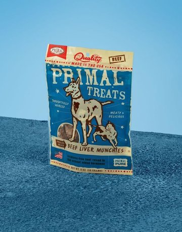 Primal Pet Foods Canine Freeze-Dried Beef Munchies