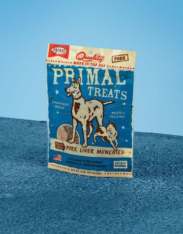 Primal Pet Foods Canine Freeze-Dried Pork Liver Munchies