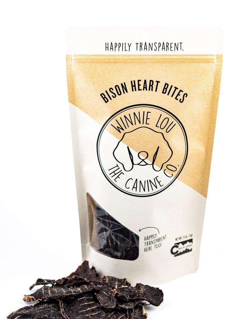 Winnie Lou - The Canine Company Canine Bison Heart