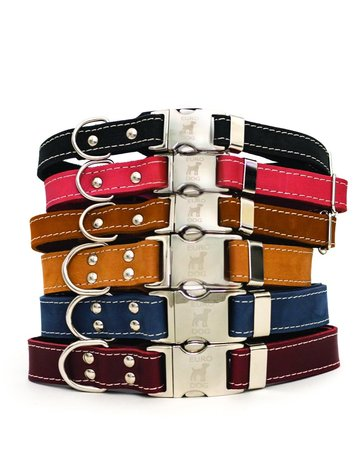 Leather Quick Release Collar