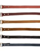 """Leather Leash 5/8"""""""