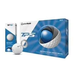 TaylorMade TP5 Balls White/Yellow - Box