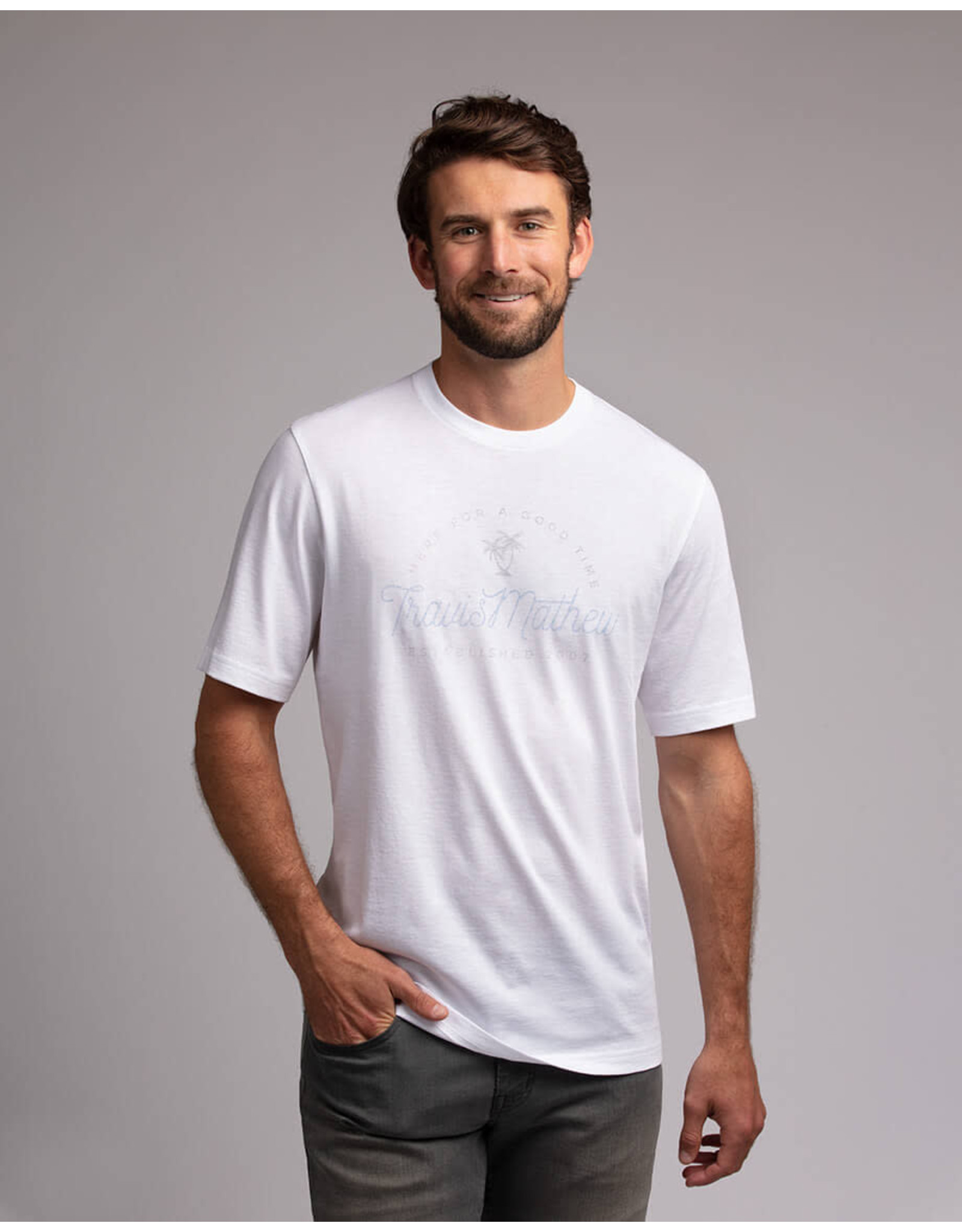 Travis Mathew Tee-Shirt Food Chain