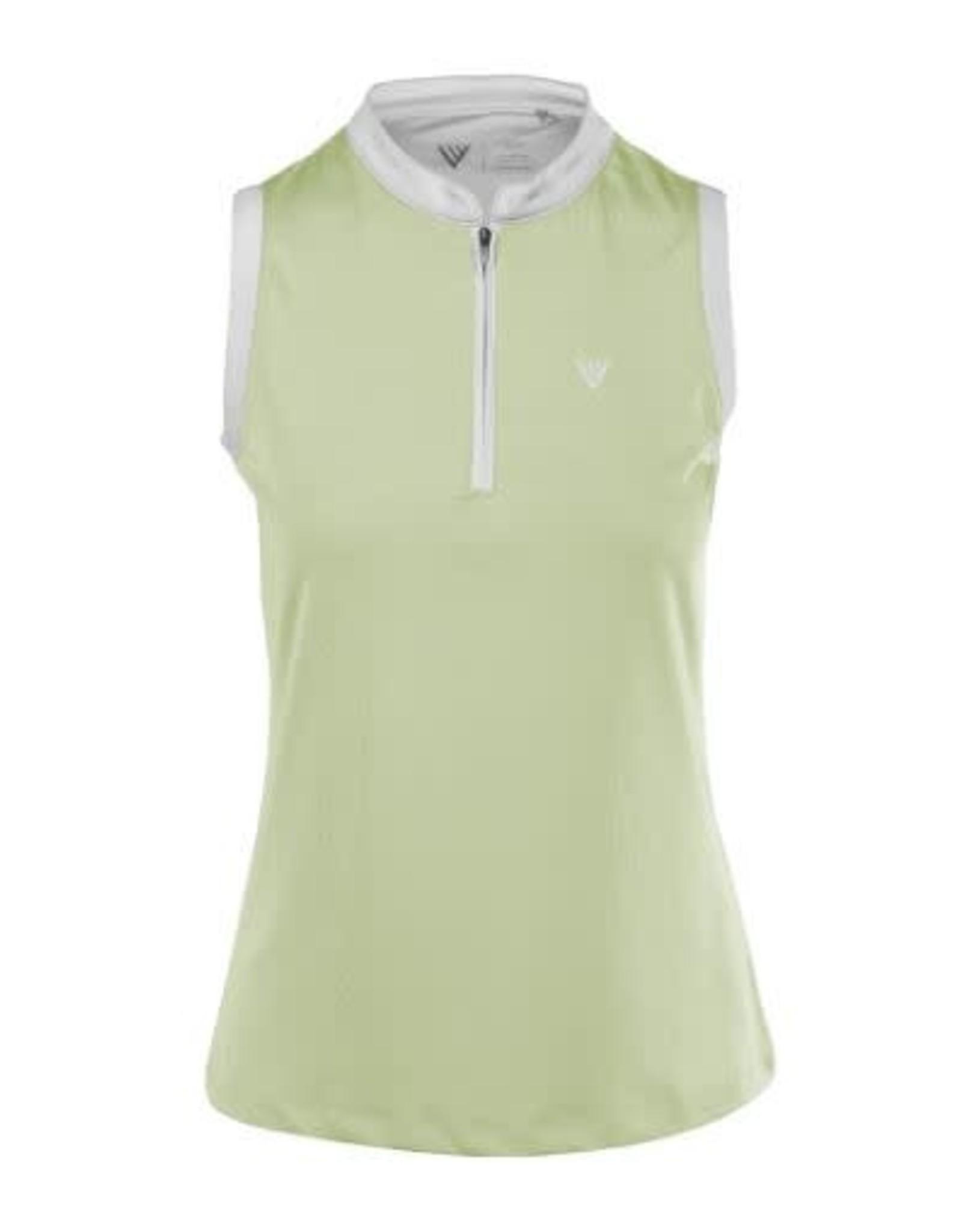 LevelWear Capri 1/4 Zip Sleeveless Shirt