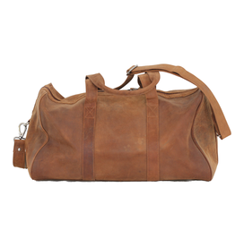 Adrian Klis Buffalo Leather Duffle Bag - medium