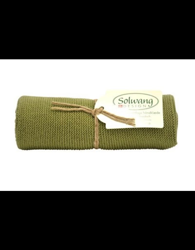 Solwang Solwang dish towels dark olive