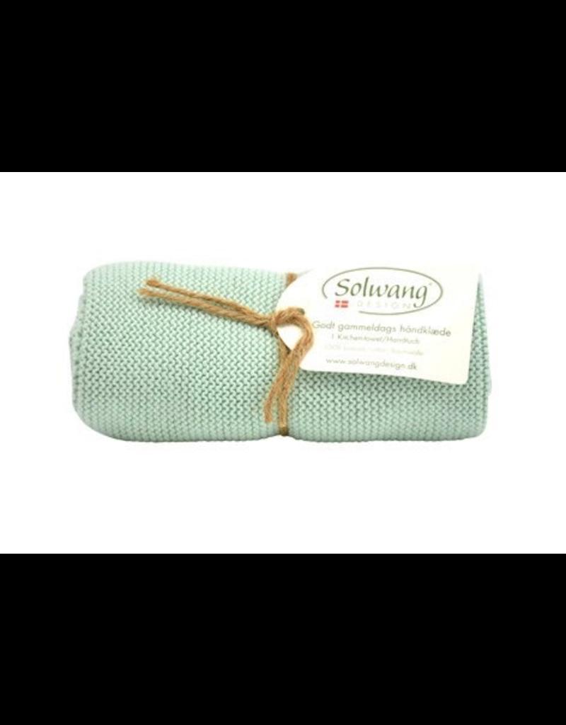 Solwang Solwang dish towels light aqua