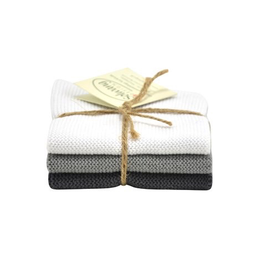 Solwang Solwang dish cloths white / grey