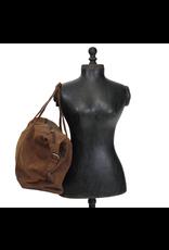 Adrian Klis Buffalo Leather Duffle Bag - large