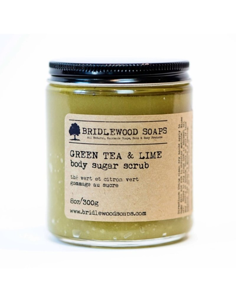 Green Tea Lime Sugar Scrub