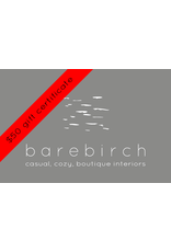 barebirch $50 gift card