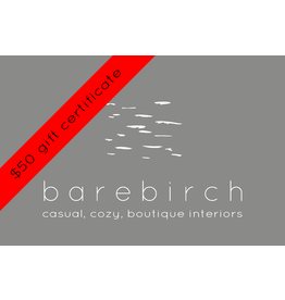 barebirch $50 gift card