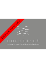 barebirch $100 gift card