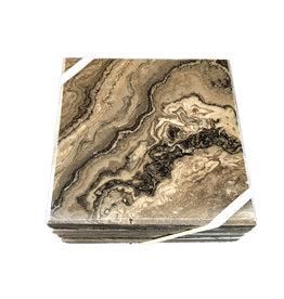 Bruce Peninsula Limestone Coasters S/4