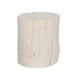 Whitewash Stump Large